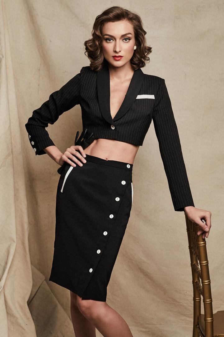 Leah Jacket + Rita Skirt