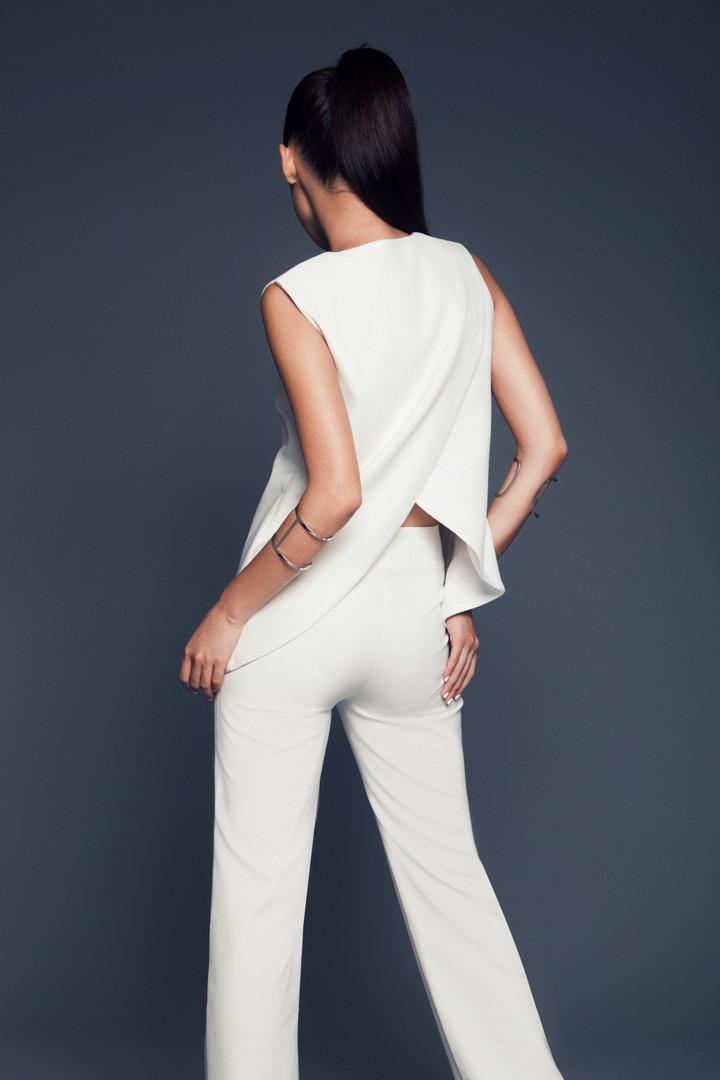Leandra Jacket in Off-white + Joyce Pants