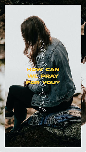 How Can We Pray For You Woman Box Story