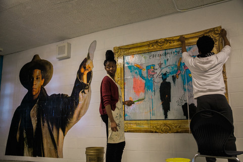 Black History Month Mural Project