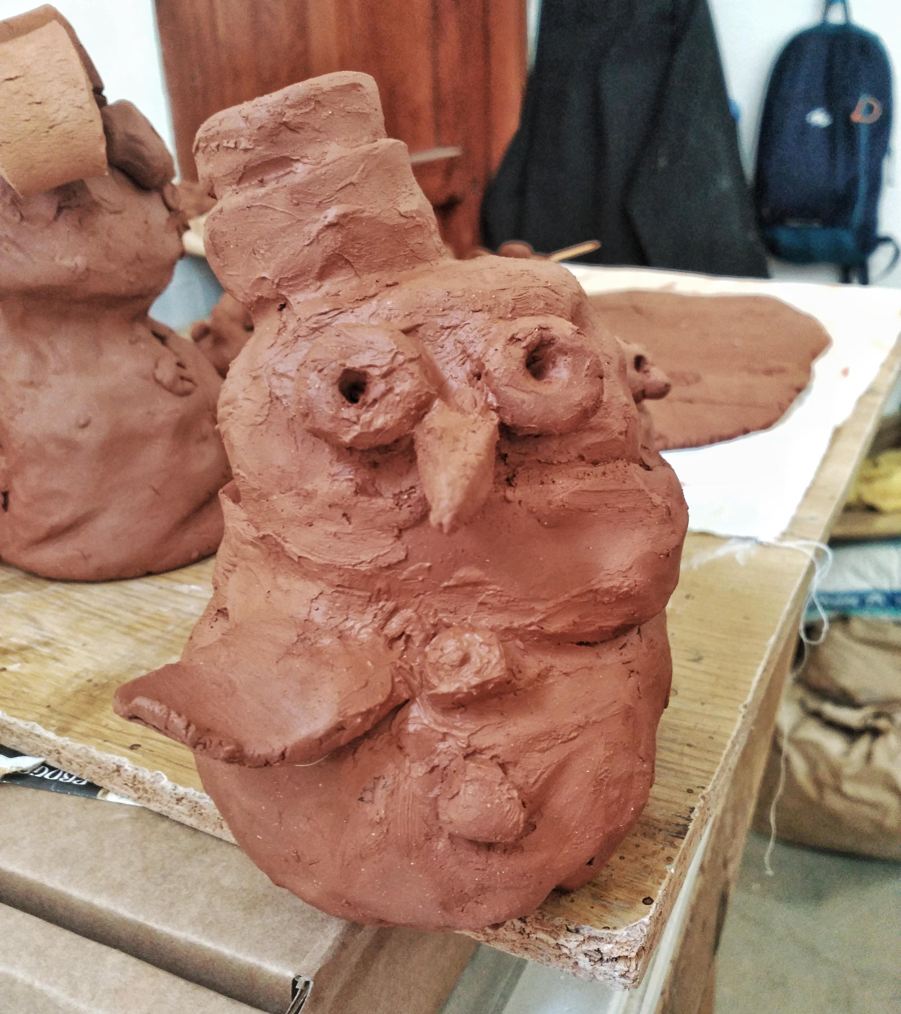 Muñeco de nieve de Candela, 6 años