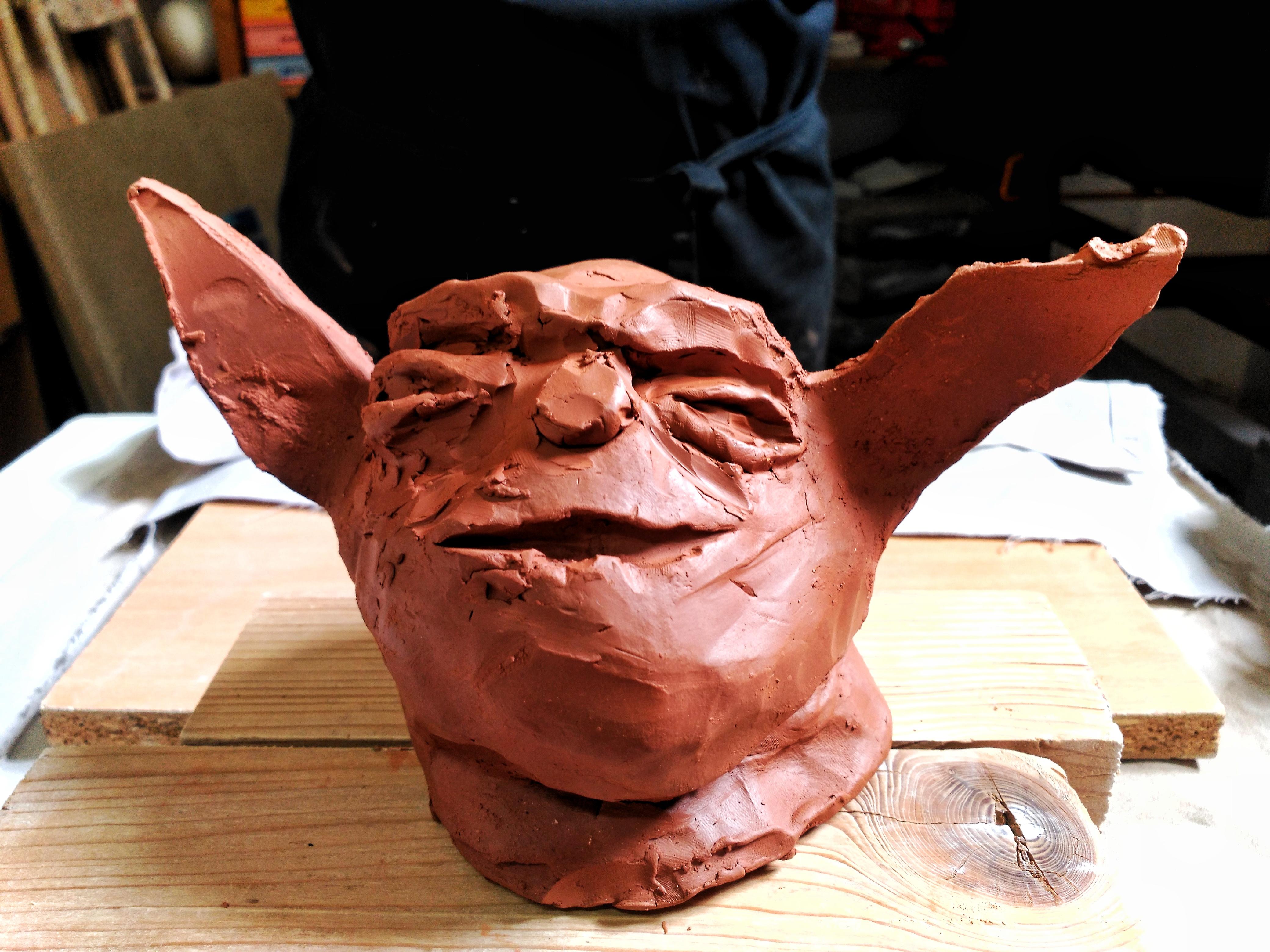 Yoda por Álex, 7 años