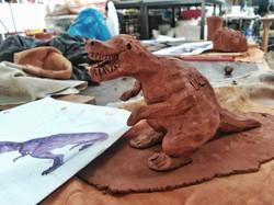 T- Rex de Mikel, 5 años
