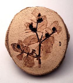 Broche vegetal