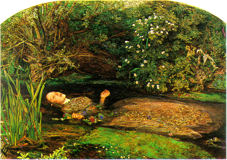 Ophelia. Sir Everett Millais