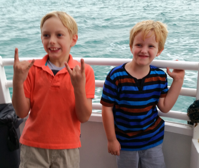 Fun on the Dolphin Cruise!