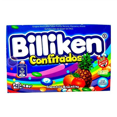 box of billiken hard candies from argentina
