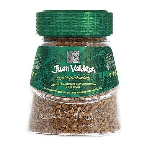 Coffee Juan Valdez Instant Decaffeinated 95g