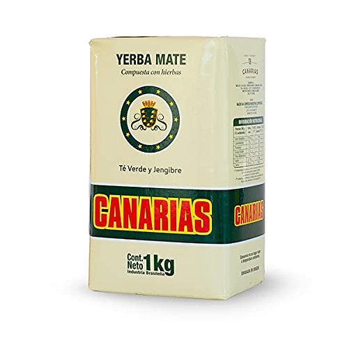 Canarias Té Verde y Jengibre 1kg