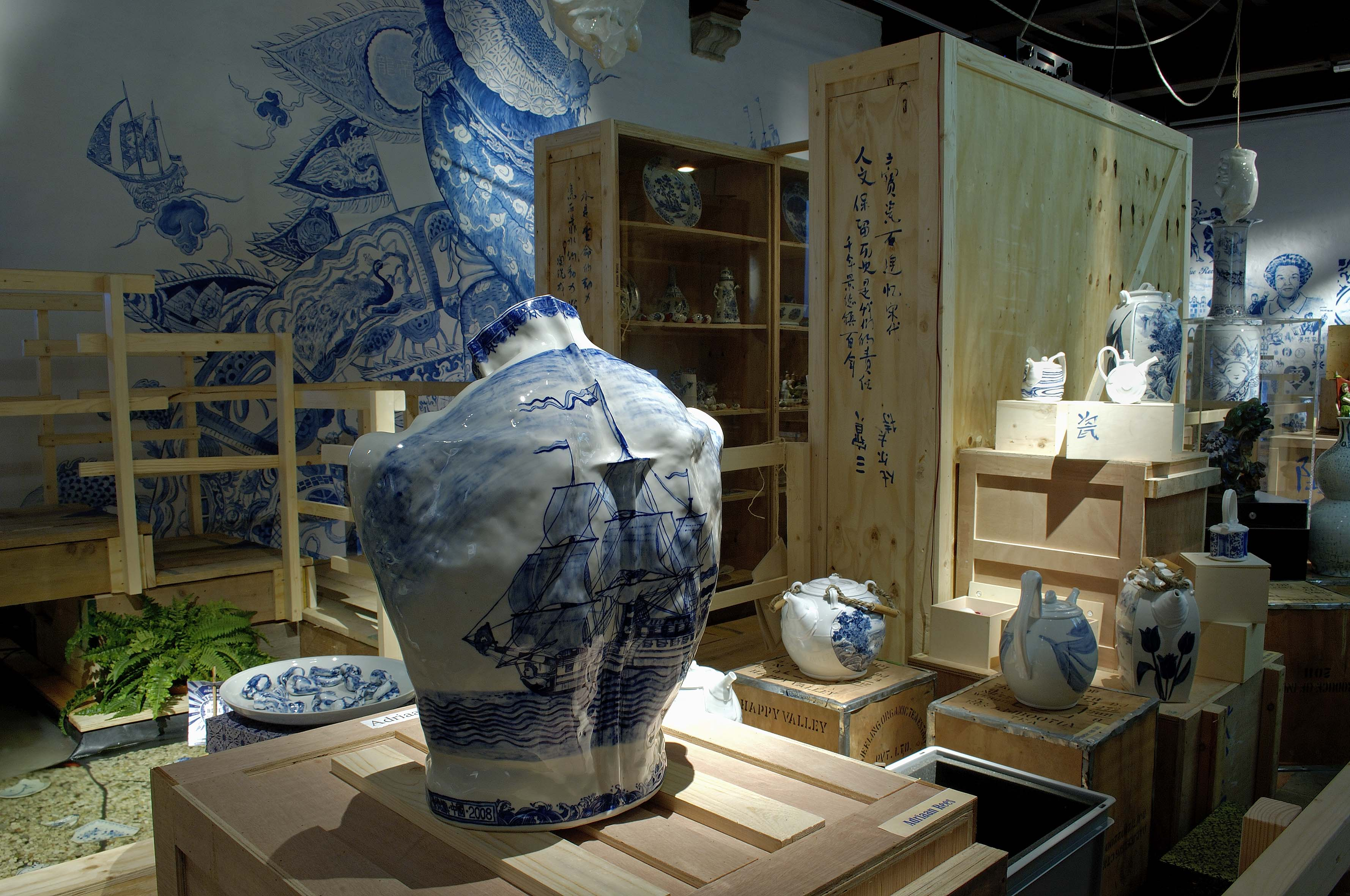 Museum Prinsenhof - Blue Revolution Foto Ron Zijlstra 2013