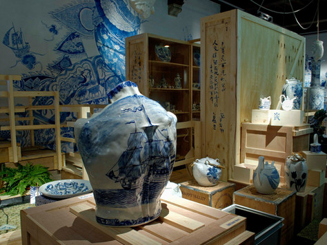 The Blue Revolution, Museum Prinsenhof