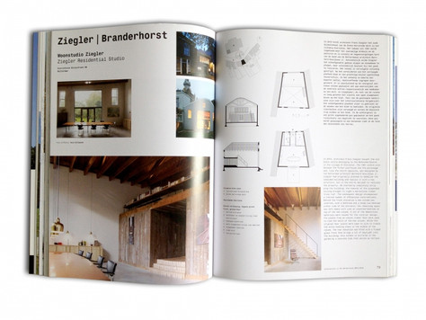 Lichtontwerp Paul van Laak in Architectuur Jaarboek 2013-2014!