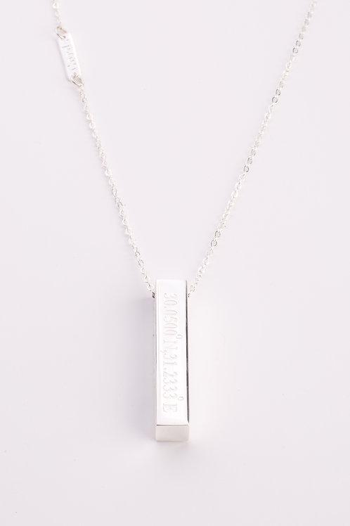 Obelisk Cairo Coordinate Necklace