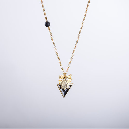 Mayaztec Necklace In Gold