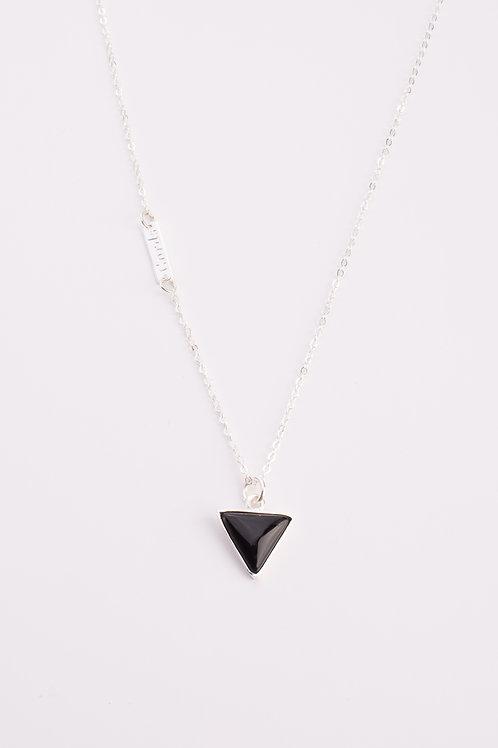 Framed Stone Necklace