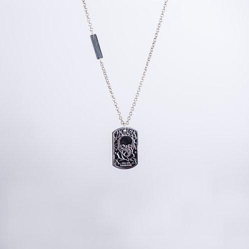 Calaverita Necklace In Silver