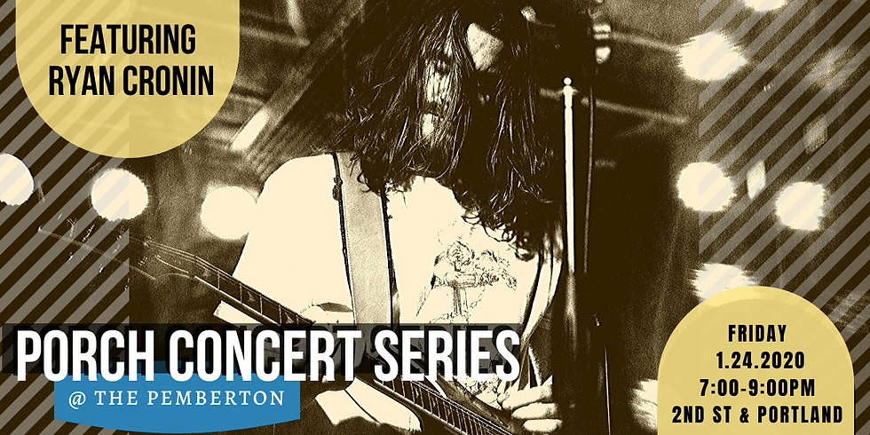 Porch Concerts at Pemberton: Ryan Cronin