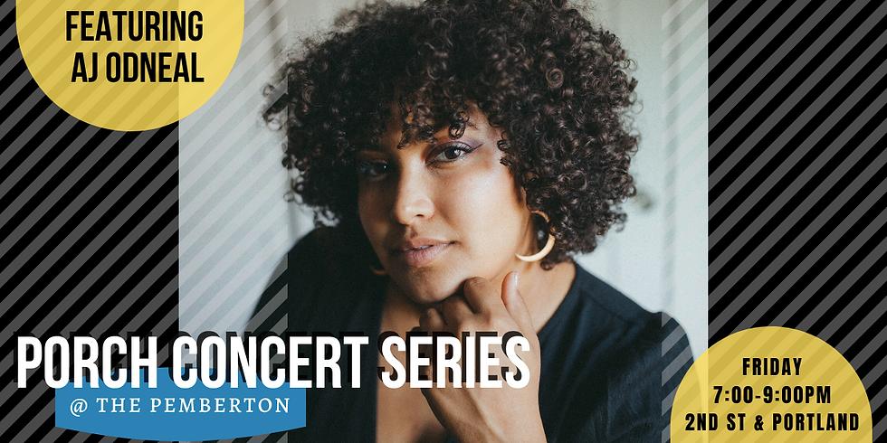 Porch Concerts at Pemberton: AJ Odneal