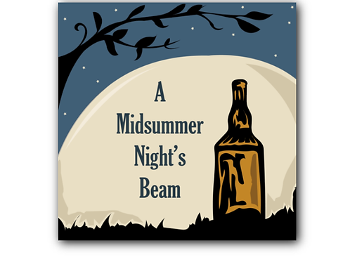 A Midsummer Night's Dream Pun Canvas Print (8 x 8 inches)