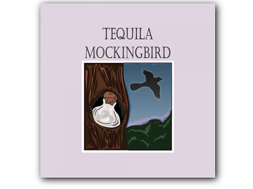 To Kill a Mockingbird Pun Canvas Print (8 x 8 inches)