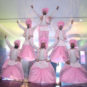 BHANGRA AT INDIAN WEDDINGS