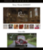 Page web personnelle mariage