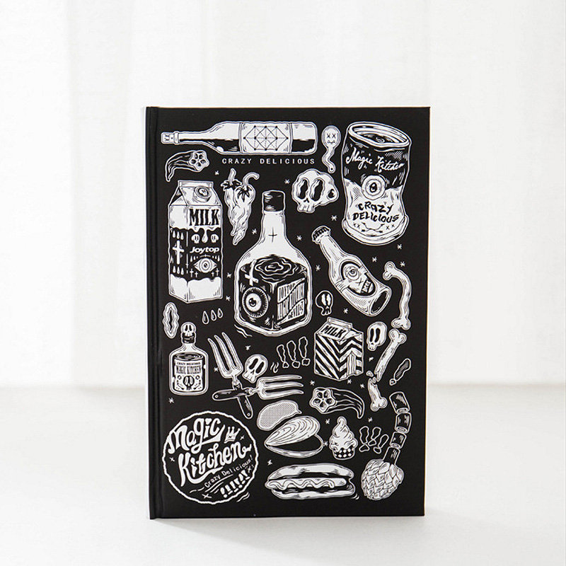 Magic Kitchen Hardcover Mixed Notebook Krstationery