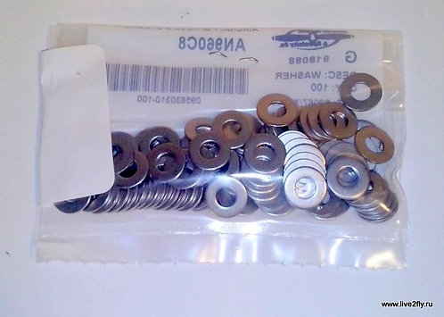 Шайба AN960C8 / FLAT STAINLESS WASHER