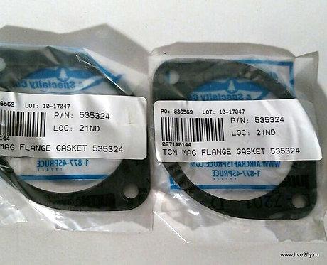Прокладка крепления магнето для Continental O-300 / TCM MAG FLANGE GASKET 535324