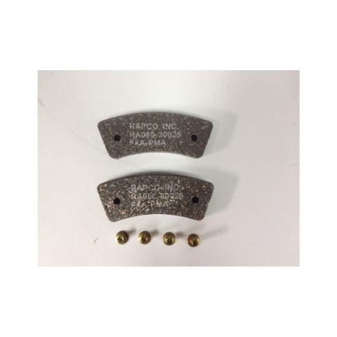 Тормозные накладки RAPCO BRAKE LINING RA066-10900