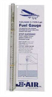 Уровнемер топлива / FUELHAWK CESSNA 172 - 26.5 GALLON FUEL GAUGE