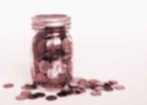 Penny Jar with Scattered Pennies.jpg