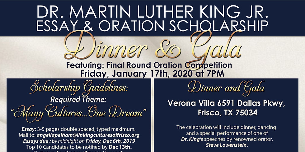 Linking Cultures of Frisco Scholarship Gala 2020