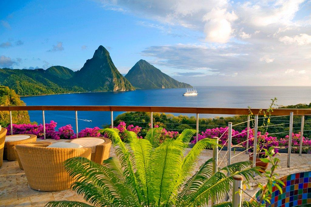 1) Saint Lucia