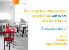 Etre soutenu dans l'élaboration et l'intégration de l'approche RdR Alcool dans vos projets services