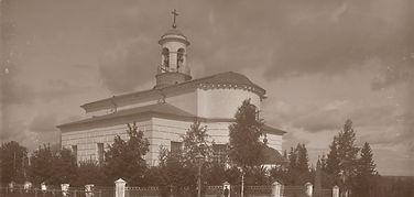 Крестовоздвиженский храм Снегирево 19 век