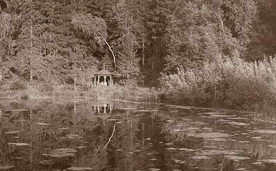 Источник верхний пруд усадьба Салтыковы