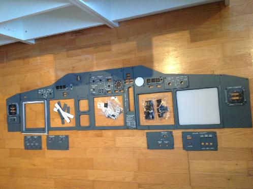 B737 MIP Panel