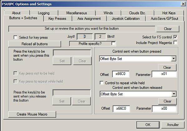 FSUIPC Autopilot