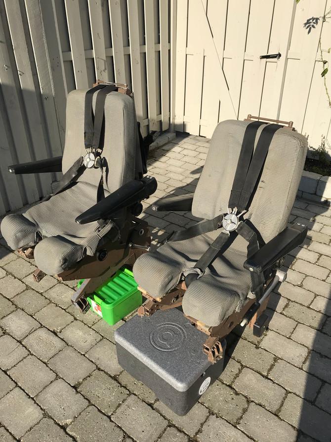 Real Pilot Seats