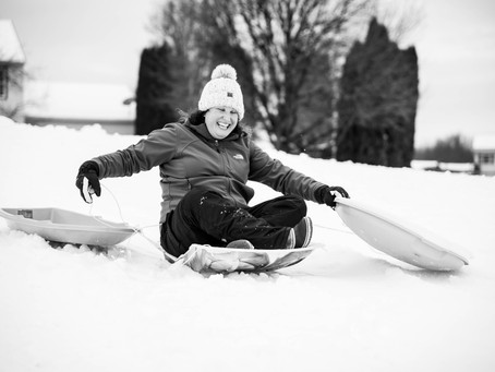 Sledding Fun--LaterBloggin
