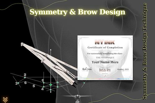 Brow Design & Symmetry Technique