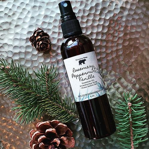 Rosemary, Peppermint & Vanilla Aromatherapy Spray
