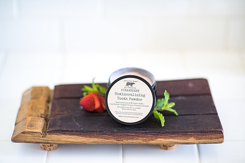 Strawberry Remineralizing Tooth Powder