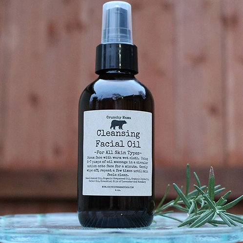 Cleansing Facial Oil