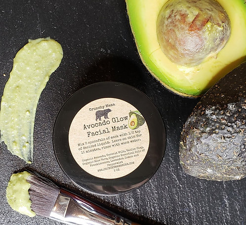 Avocado Glow Facial Mask