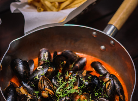 BTM Mussels and Bar: Finally, some moules frites