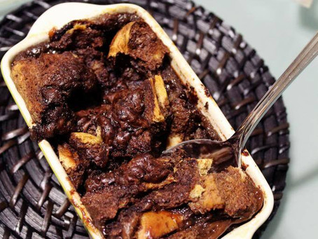 Nutella Bread Pudding