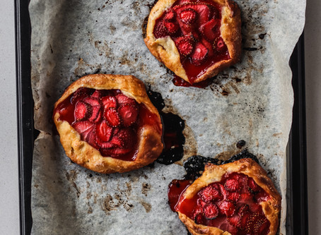 Mini Strawberry Galettes: Still a favourite, years on