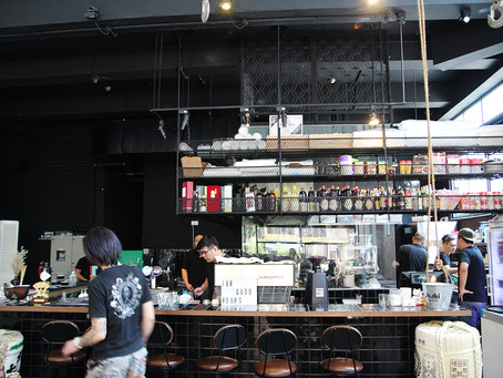 The Refinery: Lovely coffee, meh on the lunch fare